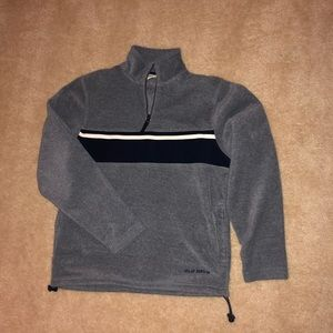 Old Navy grey fleece pullover